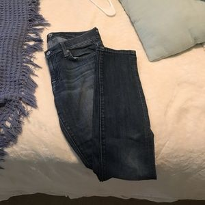 Size 28 7 for All Mankind Skinny Jeans (Roxanne)